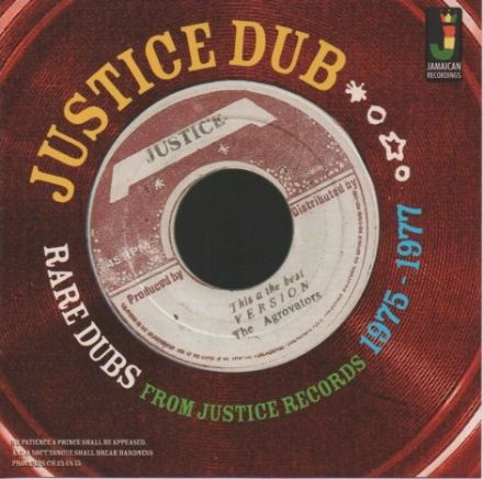 Agrovators - Justice Dub: Rare Dubs From Justice Records 1975-1977 (Jamaican Recordings) LP